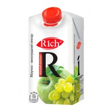 Сік Rich Яблучно-виноградний нектар т/п 0,5л